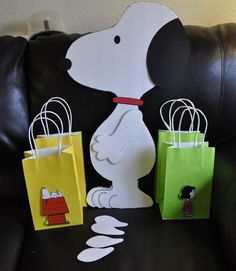 Snoopy stuff made for my child's birthday!