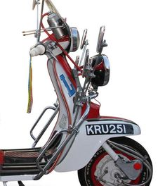 Up for auction: Replica of Jimmy's scooter from Quadrophenia