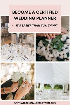 Learn How To Become a Certified Wedding Planner and Build Your Career Filled with Passion. Get Started Today! Download our Course Brochure! Dream Career, Industrial Wedding, Wedding Tips, Perfect Wedding, Something To Do, Wedding Planner, Dreaming Of You, How To Become, Wedding Inspiration