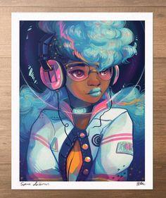 17 ideas for digital art girl black hair illustrations Arte Dope, Dope Art, African American Art, African Art, Inspiration Art, Art Inspo, Character Inspiration, Dope Kunst, Art Amour
