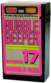 Bubble Beeper 1990s bubble gum via The Candy Wrapper Museum