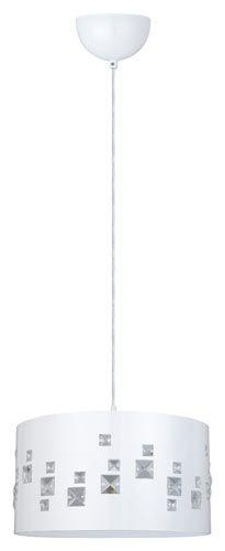 RIIPPUVALAISIN CELLO INTERVAL 60W E27. Runko valkoista terästä ja kristallit. Max. 60 W E27-kanta. Sisältää valaisinpistotulpan. Halkaisija 370 mm. www.k-rauta.fi Chandeliers, Lamps, Ceiling Lights, Lighting, Home Decor, Transitional Chandeliers, Lightbulbs, Decoration Home, Room Decor