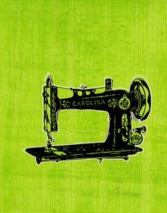 SewingMachineZgallerie — Printable Decor