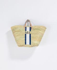 Rae feather beach bag