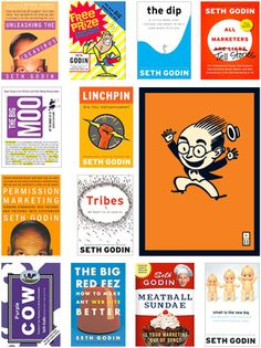 I can honestly say the Seth Godin's books have changed the way I think about the world!