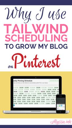 Pin like a Pro with the Tailwind Pinterest Scheduler! Automating my Pinterest Marketing with Tailwind has helped me grow my blog while giving me time to focus on my business.