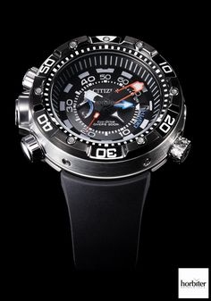 Diving Soon! The CITIZEN PROMASTER AQUALAND Depth Meter 2014