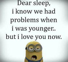 Lieber Schlaf ...