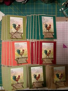 Home to Roost Homemade Birthday Cards, Homemade Cards, Hand Made Greeting Cards, Greeting Cards Handmade, Home To Roost, Chickens And Roosters, Beautiful Handmade Cards, Stamping Up Cards, Bird Cards