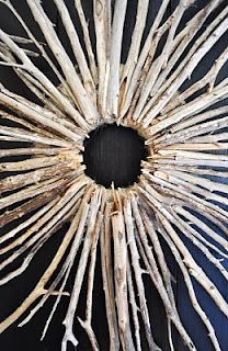 Starburst Twig Wreath | The Painted Hive