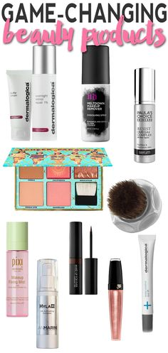 Game-Changing Beauty Products