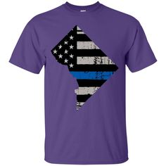 Washington, DC USA State Flag Shirt