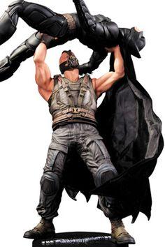 THE DARK KNIGHT RISES - Batman vs. Bane Statue 40 cm