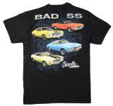 Chevelle T-shirt One Bad SS Chevelle, Medium, Black - http://shopattonys.com/chevelle-t-shirt-one-bad-ss-chevelle-medium-black/