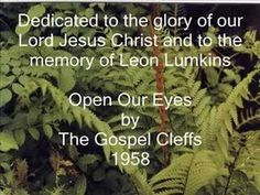 Open Our Eyes - YouTube