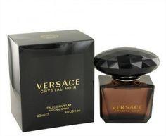 PERFUME VERSACE CRYSTAL NOIR BY VERSACE 3.0 OZ EDP SPRAY NEW IN BOX FOR WOMEN #PERFUME #VERSACE