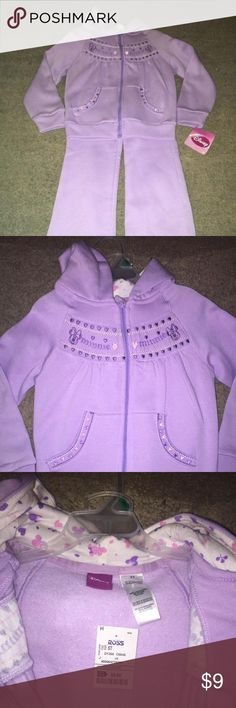 💝HP💝Cute Purple Two Piece Set💝 💝Everything Kids Host Pick💝Super cute Purple Set. Pants and sweater💝 Disney Dresses