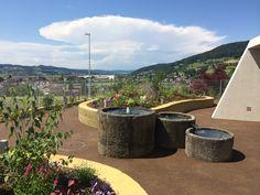 Altersheim Sonnenberg Reinach  Garten für Menschen mit Demenz