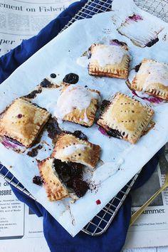 Blackberry Earl Grey Tea Hand Pies
