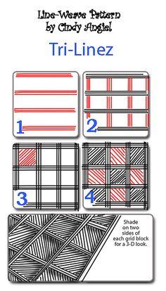 Tri-Linez PatternWorksheet | Flickr: Intercambio de fotos
