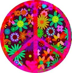 Peace and Flowers belong together. Hippie Peace, Happy Hippie, Hippie Love, Hippie Chick, Hippie Art, Hippie Style, Hippie Things, Hippie Gypsy, Peace On Earth