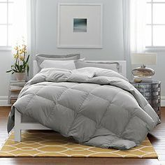 light grey comforter - Google Search
