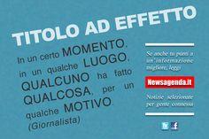Newsagenda.it - un giornalismo migliore è possibile