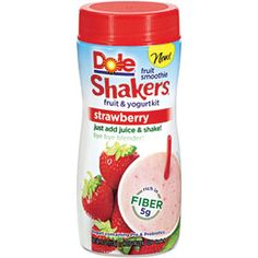 Walmart: Dole Fruit Smoothie Shakers Only $0.50! http://becomeacouponqueen.com