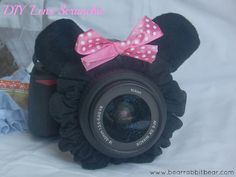 DIY Lens Scrunchie- {Bling for Your Camera}