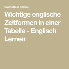 Englische Grammatik, Regeln und Erläuterungen - kostenlos Englisch ...