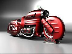 024 Concept Motorbikes by Mikhail Smolyanov