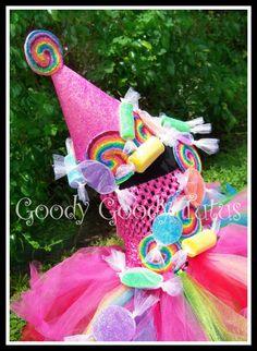 candy land tutu to match the candy land cake!