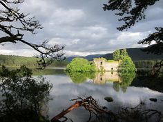 A group of us are going to Aviemore again this month so need to plan ahead! Loch an Eilein Castle, Aviemore, Scotland