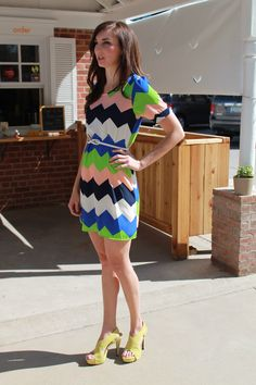 Cute dress! Looks great on the model....most likely not so much on me.