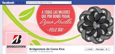 Facebook Cover Día Internacional de la Mujer 2013   Cliente: Bridgestone Costa Rica