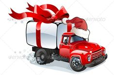 Cartoon Christmas Cargo Truck #GraphicRiver Available AI-10 and EPS vector formats separated by groups and layers for easy edit. More cartoon cars or vector transportation illustrations see in my portfolio. Also you can check at my collections: Vector Cartoon Cars Vector Cartoon Trucks Detailed Vector Cars modern and retro Detailed Vector Trucks Vans Tractors and Pickups Detailed Vector realistic and cartoon styled Buses Vector aircrafts, airplanes, retro, modern, blueprints, silhouettes and…