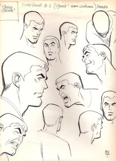 alex toth model sheets | tothfans.com - The Official Alex Toth Website