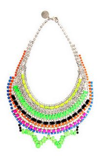 statement necklaces by Tom Binns