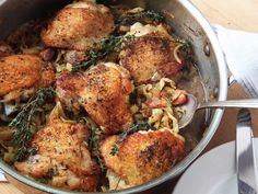 Braised Chicken With White Beans and Chile Verde | Recipe | Braised ...