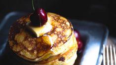 American Pancakes, Goodies, Baking, Breakfast, Recipes, Food, Caramel, Baking Soda, Sweet Like Candy