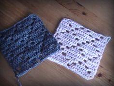 tutorial para tejer el cuadro 17 de la manta a crochet Freestyle con el punto rombo sencillo para **diestros y zurdos**. Disfruta tejiendo conmigo.
