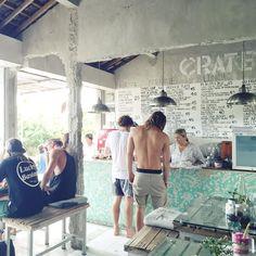Bali // Canggu // Crate cafe canggu