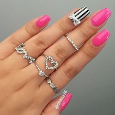 Luxury Bow Nail Charm