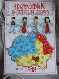Origarden: 1 DECEMBRIE - ZIUA ROMÂNIEI Diy And Crafts, Crafts For Kids, Paper Crafts, 1 Decembrie, Art Projects, Projects To Try, Autism Classroom, Creative Kids, Box Art