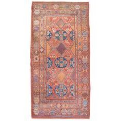 Early 19th Century Khotan | From a unique collection of antique and modern central asian rugs at https://www.1stdibs.com/furniture/rugs-carpets/central-asian-rugs/