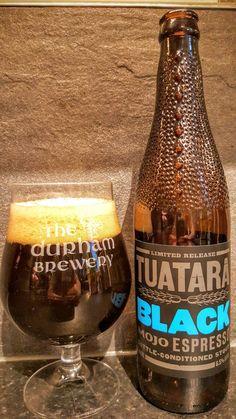 Tuatara Brewing Black Mojo Espresso Stout. Watch the video beer review here www.youtube.com/realaleguide #CraftBeer #RealAle #Ale #Beer #BeerPorn #Tuatara #TuataraBrewing #TuataraBlack #BlackMojoEspressoStout #TuataraBlackMojoEspressoStout #NewZealandCraftBeer #NewZealandBeer