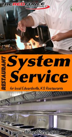 Restaurant Fire Suppression System Service Edwardsville, KS (816) 833-8822 Call the Experts at The Red Force Fire and Security.. We are the complete source for Fire Extinguisher Service and Restaurant System Service for Local Missouri Restaurants. We would love to hear  from you.. Call us Today!