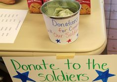Cookie Booth Basics: Gift of Caring/Cookie Share - Girl Scout Spirit Hometown Heros bucket Girl Scout Cookie Sales, Brownie Girl Scouts, Girl Scout Cookies, Girl Scout Leader, Girl Scout Troop, Gs Cookies, Cookies Et Biscuits, Girl Guide Cookies, Girl Scout Activities