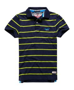 Superdry Miami Stripe Polo-Shirt