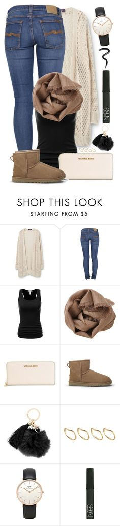 """#33"" by oneandonlyfashion ❤ liked on Polyvore featuring Violeta by Mango, Nudie Jeans Co., Brunello Cucinelli, MICHAEL Michael Kors, UGG Australia, ASOS, Topshop, NARS Cosmetics and Laura Mercier"
